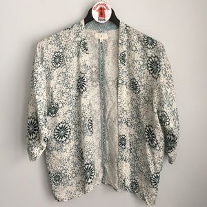Lou & Grey Kimono Cardigan Top